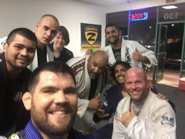 Robert Drysdale opening my new bjj school